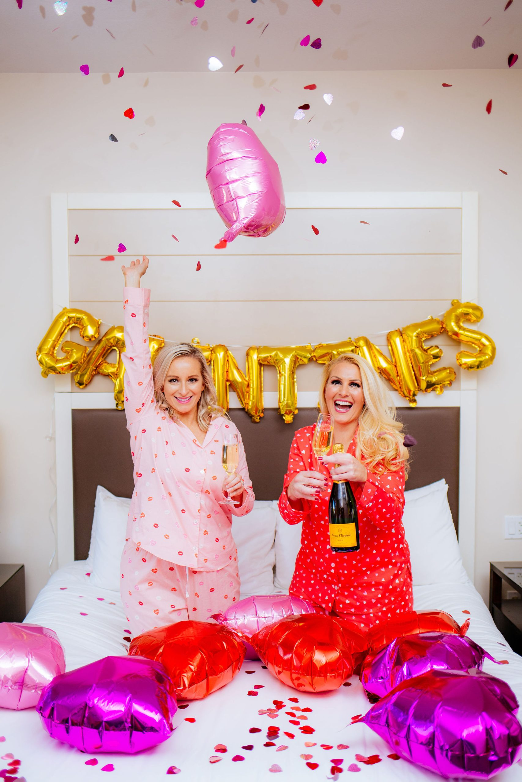Epicurean Hotel, Autograph Collection in Old Navy Valentine's day pajamas