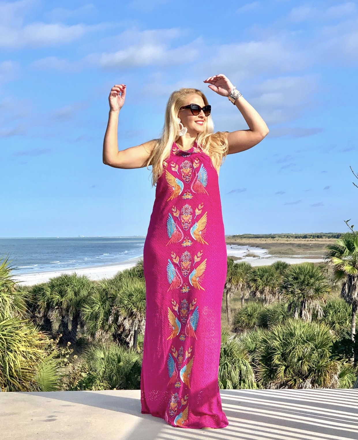 Judith March Halter Maxi Dress
